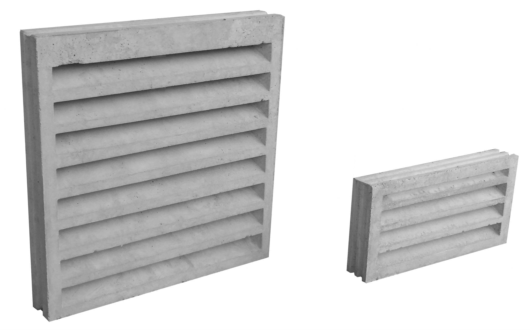 Muros de hormigon blanco