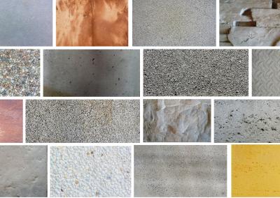 Texturas y acabados de hormigón